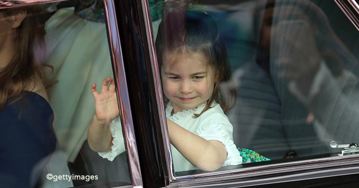 sin titulo 1 62.png - La princesa Carlota robó la atención en otra boda real, su carisma es increíble