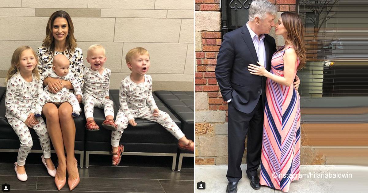 sin21 2.jpg - Hilaria Baldwin tuvo 4 bebés, en 4 años y tiene un cuerpo espectacular, conoce su secreto
