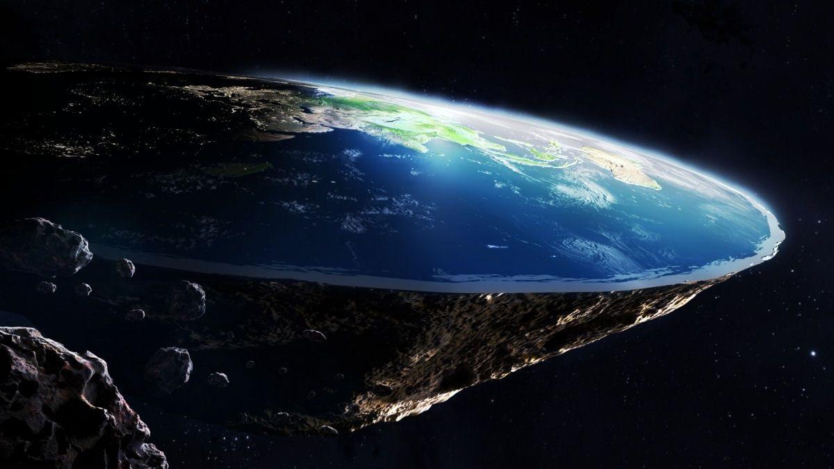 terraplana.jpg - Bizarro: Teoria de que a Terra é plana alega que a Austrália não existe