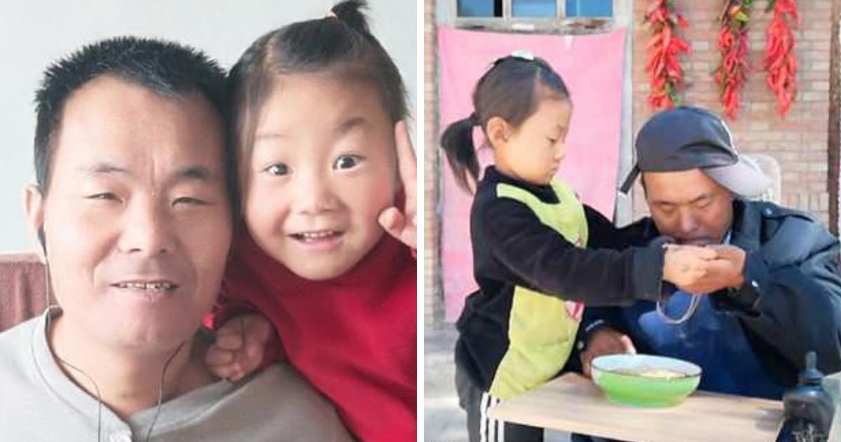 untitled design 70.png - Una niña de 6 años cuida a su padre discapacitado después de que su madre los abandonara