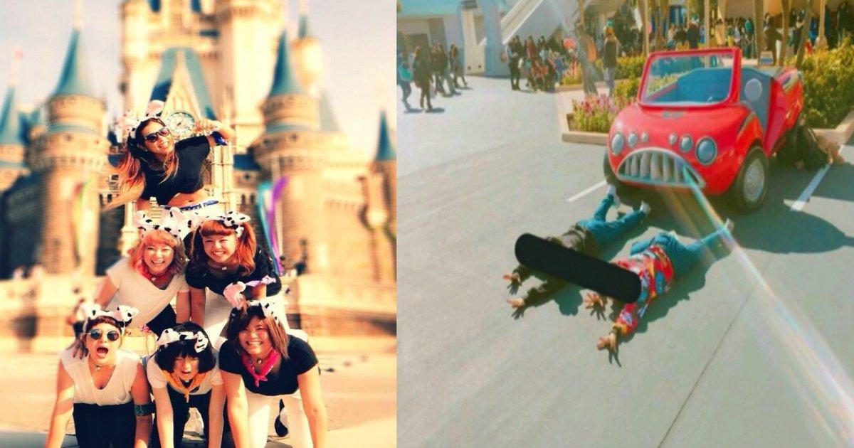 181103 301.jpg - 在迪士尼樂園疊羅漢拍照被阻止!?原來在迪士尼拍照有這些禁忌!