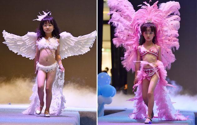 181115 101.jpg - 中國舉辦內衣秀,模特兒竟然全是幼女!只管賺錢的態度讓網民火大啦!