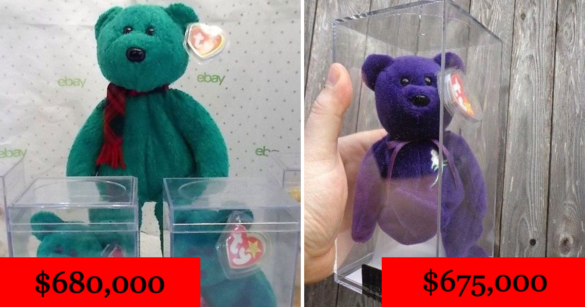 beanie babies.jpg - 10 Beanie Babies Stuffed Character Toys That Will Cost You A Fortune