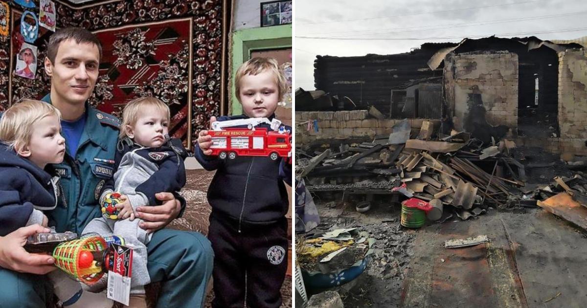 boys3.png - Trois frères tués dans un incendie à la maison après que leur mère les ait enfermés pour rendre visite à un ami