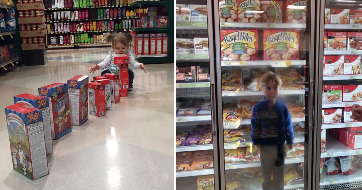 capa 1d.jpg - 25 Fotos que comprovam que ir às compras com crianças é uma missão impossível