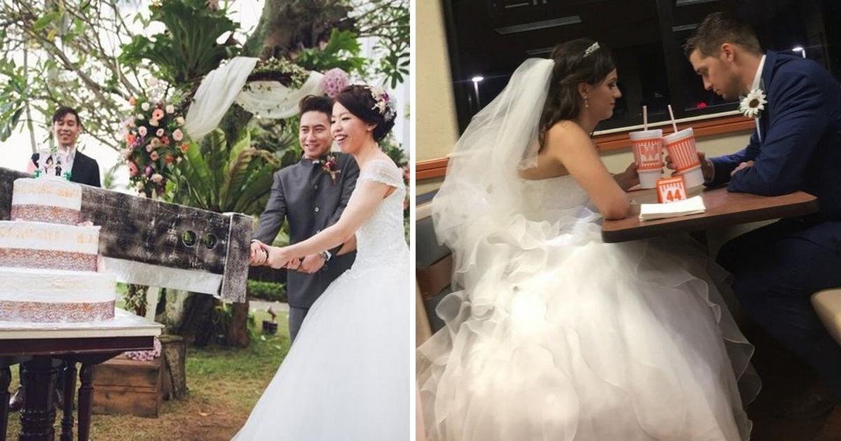 """capa10 3.jpg - 20 Fotos mostrando que casamentos não precisam ser """"perfeitinhos"""""""