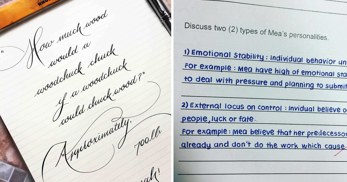capa24 2.jpg - 22 Vezes em que pessoas encontraram as caligrafias mais perfeitas