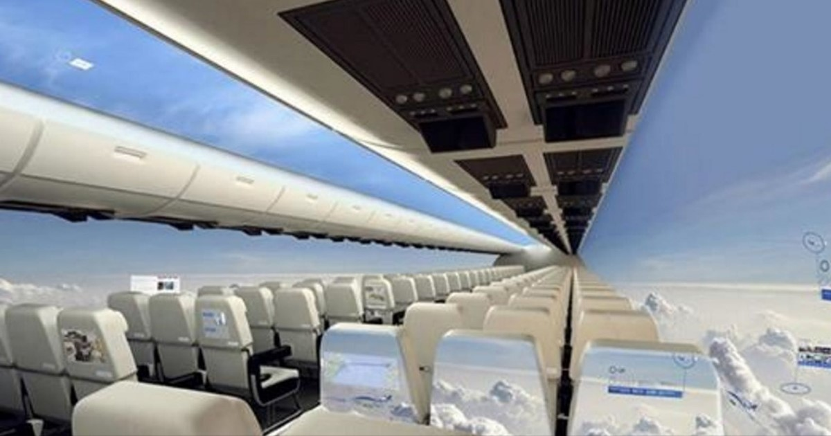 featured image 7.jpg - The Future Of Air Travel: Windowless Planes By 2030