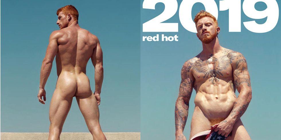 img 5be0db9e9aee9.png - 「2019 Red Hot 紅髮猛男裸體月曆」居然連下面的毛也是紅的...超大尺度月曆你一定要收!