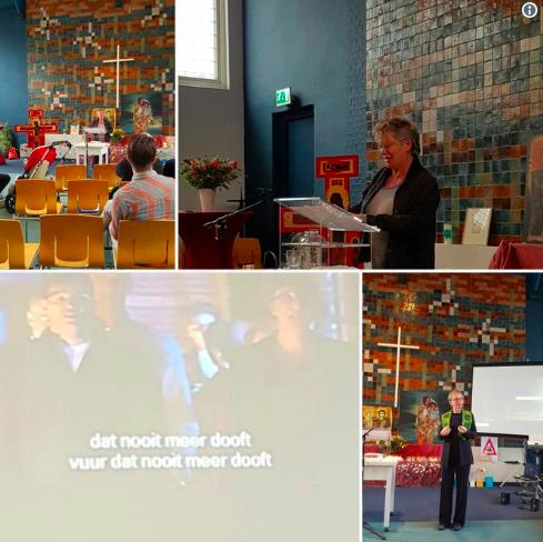 img 5bfd82b53fa4e.png - Une église néerlandaise assure un service continu pour protéger une famille de réfugiés contre la déportation