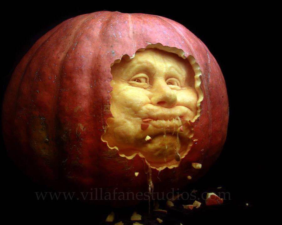 sculptures citrouilles halloween 006 01.jpg - 18 exemples étonnants de sculpture sur citrouille