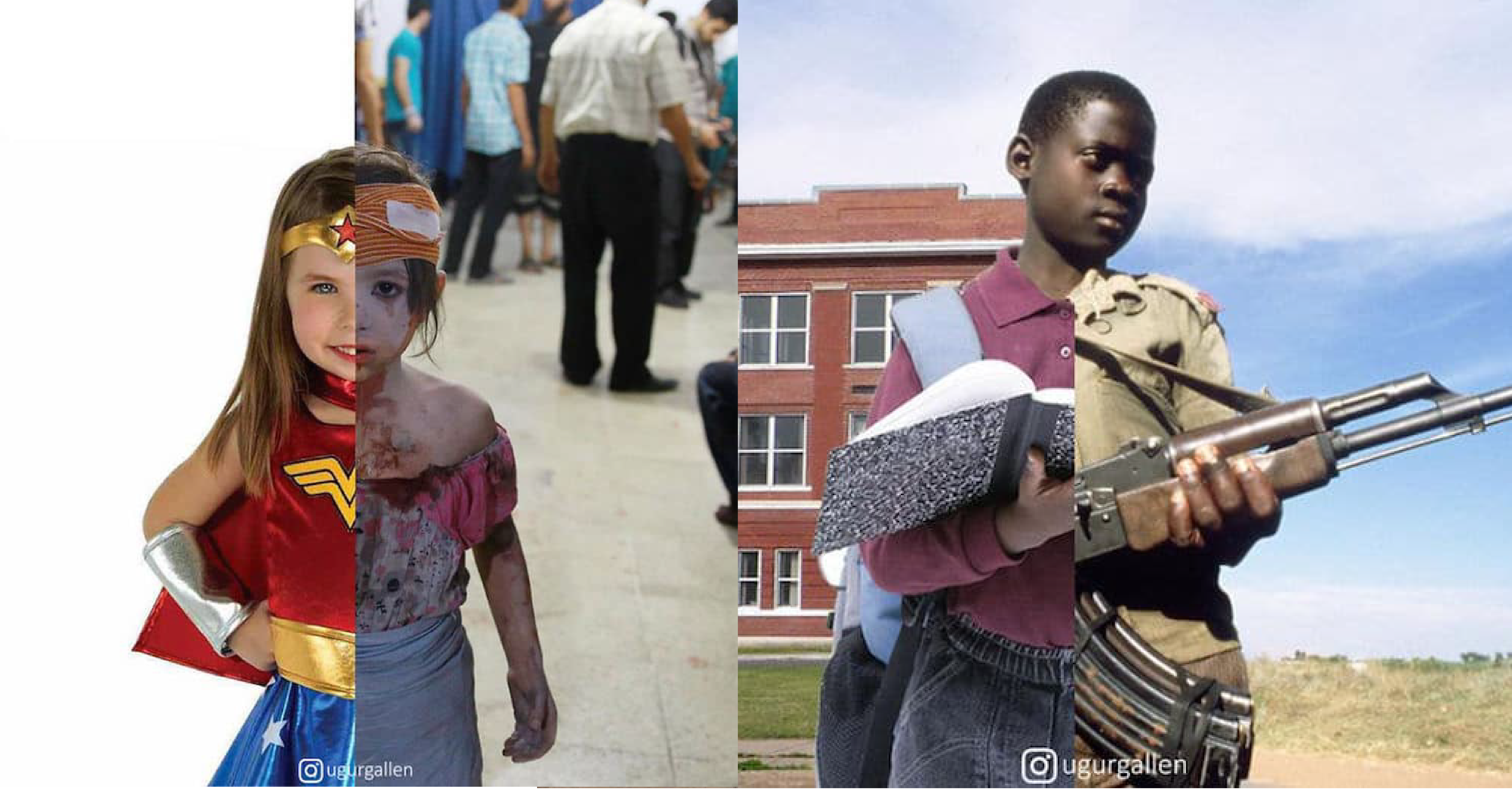 vonvone5b081e99da2 01 11.png - 文明與戰亂的殘酷對比,這組撼人的系列照片讓你反思戰爭的殘酷......