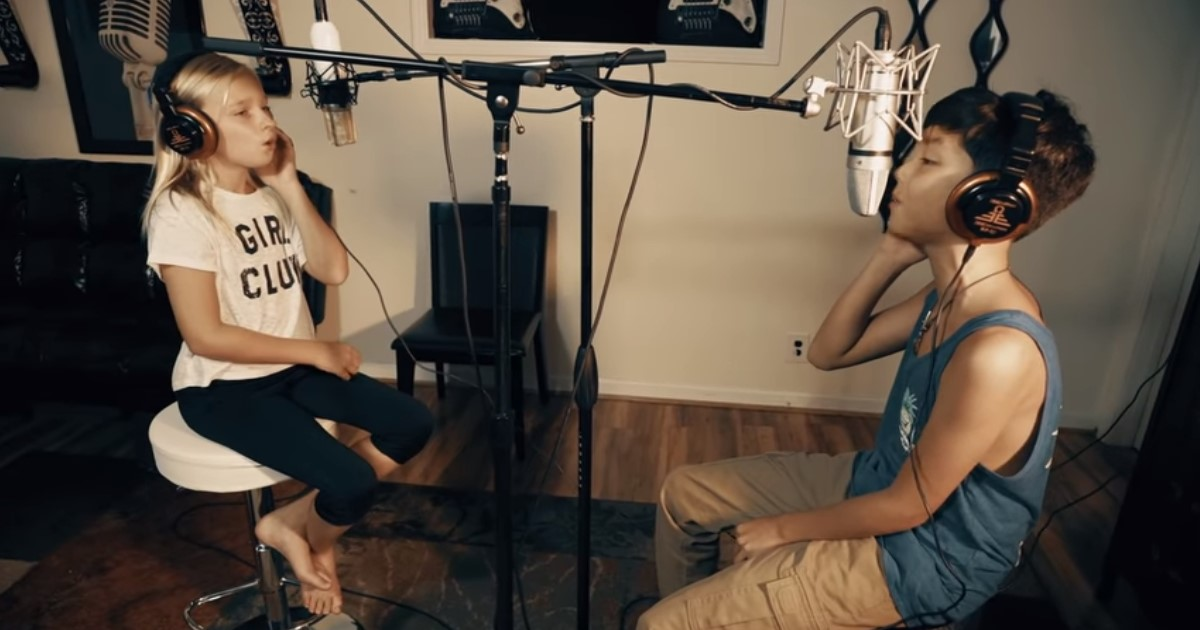 featured image 10.jpg - 11-Year-Old With Gifted Voice Sings Original Song, Then Her Partner Joins In With A Special Touch