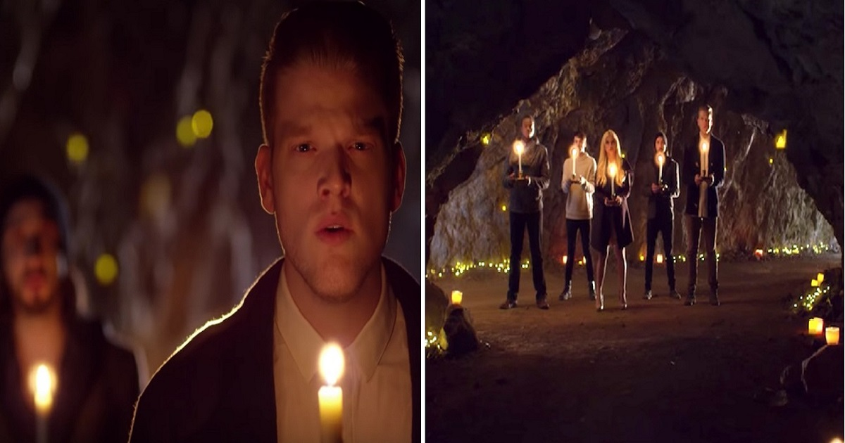 "p4 1.jpg - Beautiful Rendition Of ""Mary Did You Know"" By Pentatonix Gives Everyone Goosebumps"