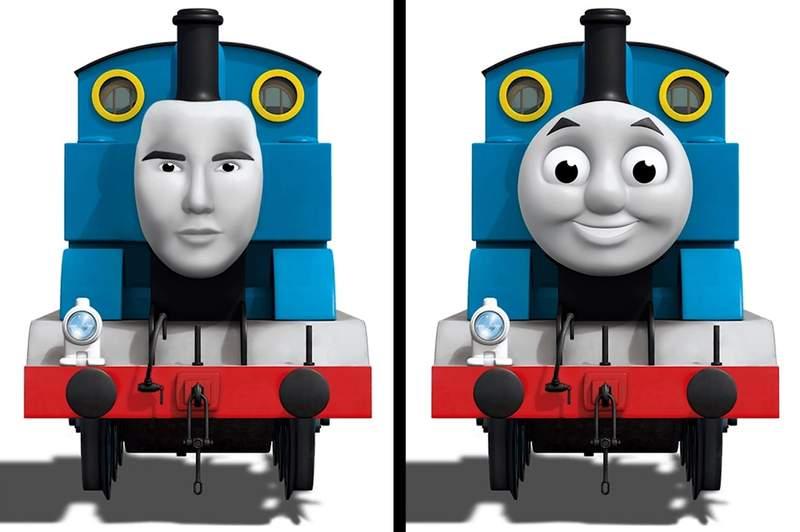 qzqvokkckaaeqaq.jpg - 「黃金比例臉」必定是帥哥美女?如果像是鬼娃恰奇和湯瑪士小火車也有呢...?