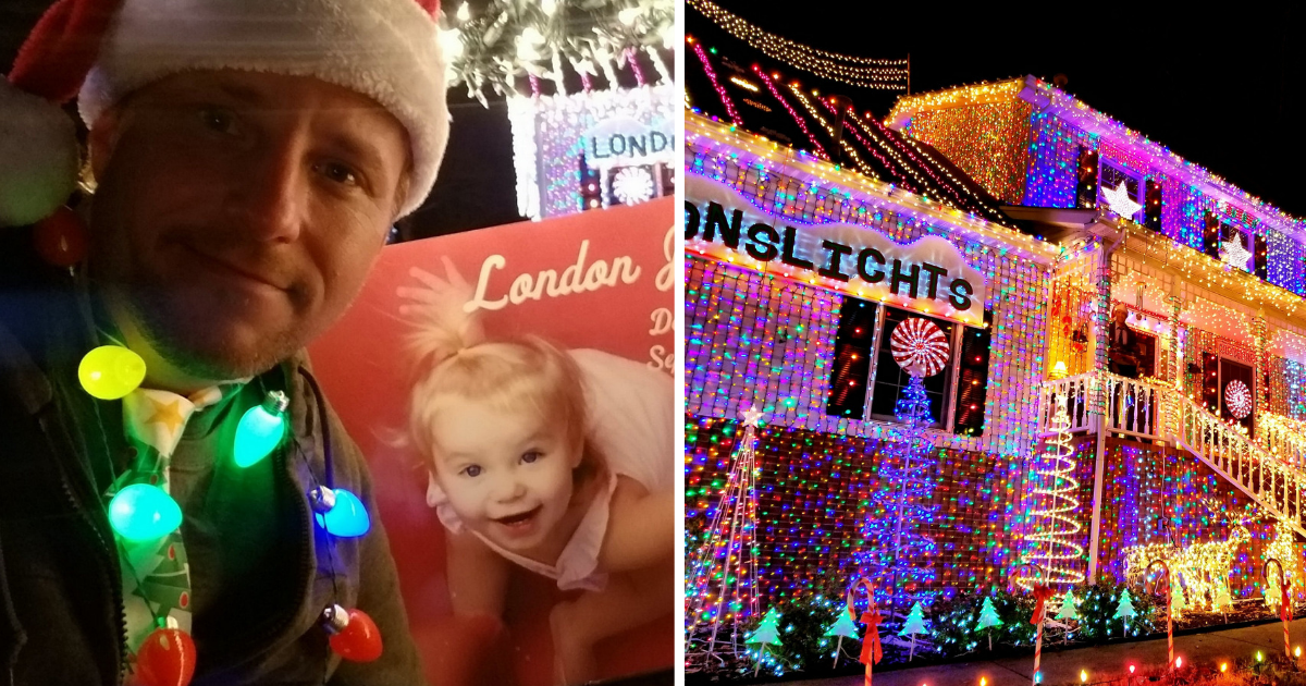 s5.png - Man Decorated His house With 300,000 Lights To Pay Tribute To His 21-Month-Old Daughter
