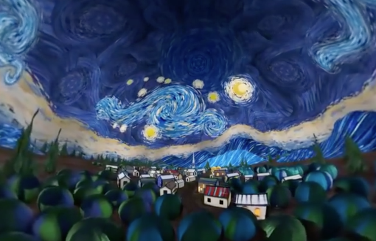 screen shot 2018 12 11 at 1 48 50 pm.png - 用VR走進梵谷「瘋狂華麗的世界」網友大叫:我是吃了蘑菇嗎~~~