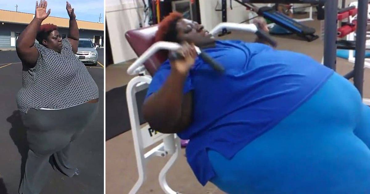 600 pound mother lose weight.jpg - 600-Pound Mother Working Hard To Shed Pounds For Her Daughter - 'I Can't See Anyone Else Raising Her'