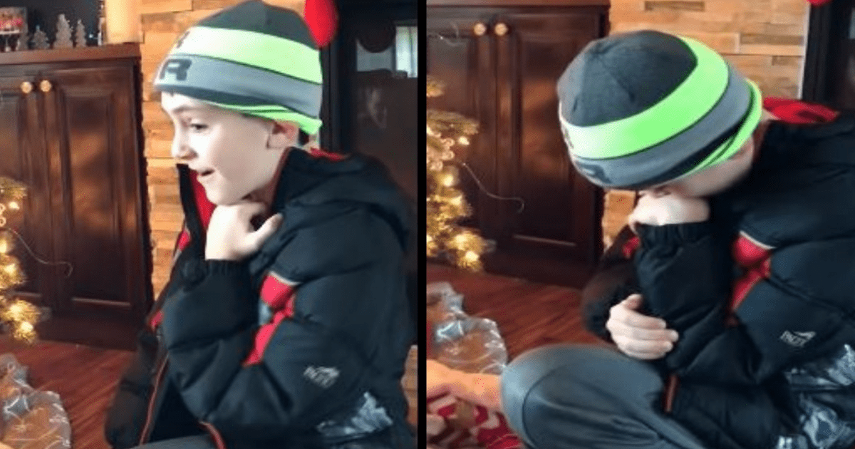 a.png - Parents Surprised 10-Year-Old Son With Adopted Baby Sister As Christmas Gift