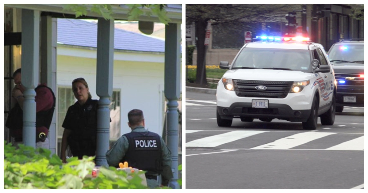 befunky collage cops.jpg - Police Rush To Home After Father Screams 'Why Don't You Die?!' As Toddler Wails In Fear
