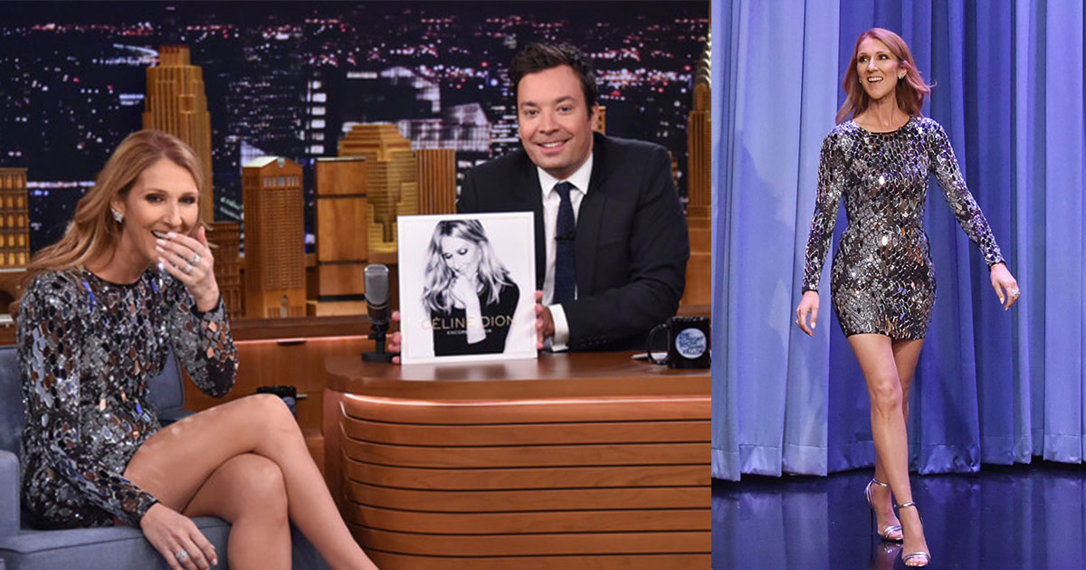 celine dion does a good job in impersonating other artists on jimmy fallons show.jpg - Celine Dion Impersonated Other Artists On Jimmy Fallon's Show And It Was Hilarious