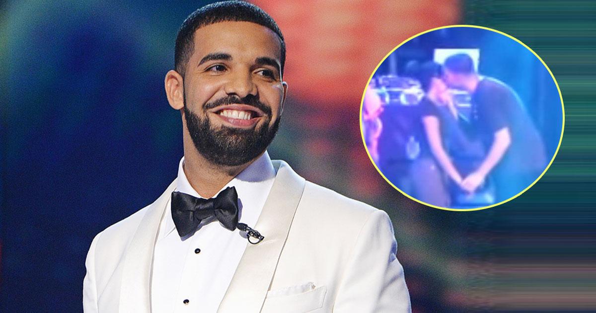 drake kissing girl.jpg - Drake Brutally Slammed After A Video Of Him Fondling An Underage Girl During A Concert Gone Viral