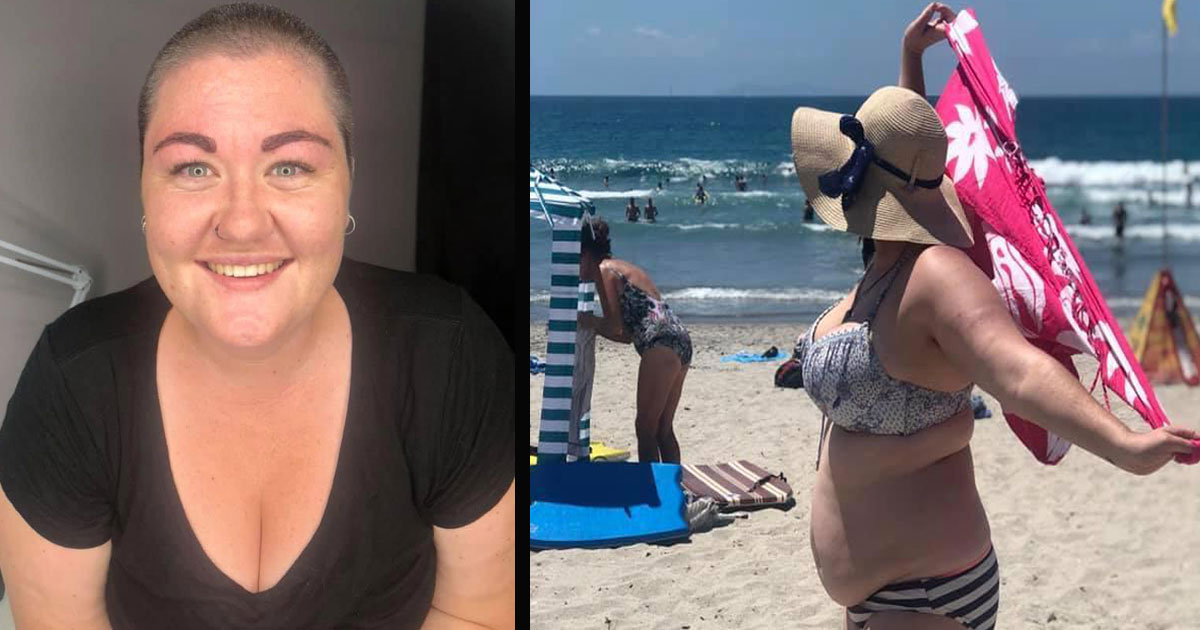 untitled 1 32.jpg - Woman Hit Back At Her Body Shamers Who 'Pointed And Laughed' At Her When She Took Off Her Sarong At The Beach