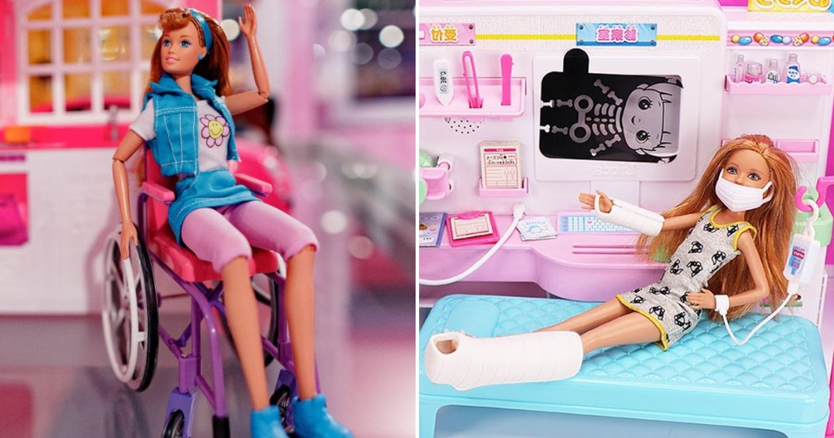 barbies.png - Barbie présente de nouvelles poupées avec membres prothétiques et un fauteuil roulant