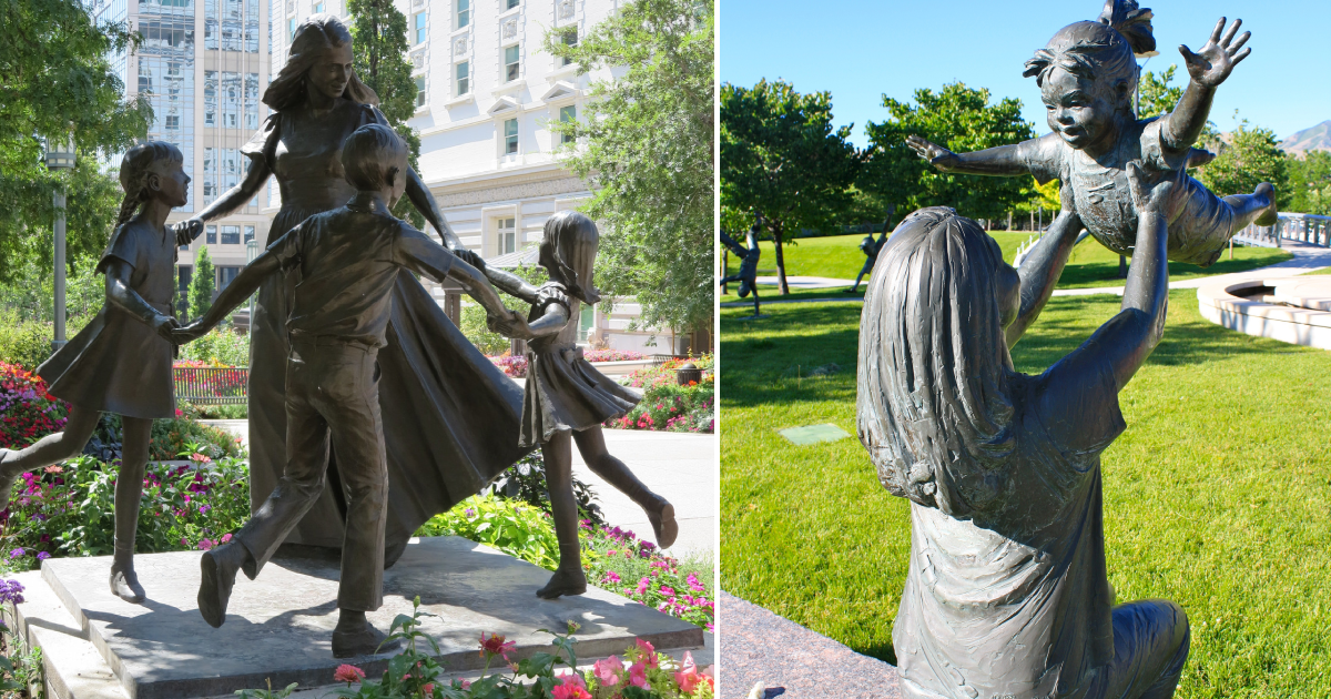 motherly love.png - 12 Beautiful Sculptures From All Over the World That Show Motherly Love