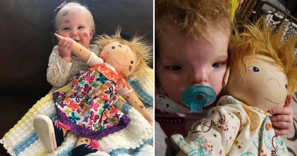 special dolls.png - Woman Creates Special Dolls That Looks Exactly Like Their Little Owners To Help Them Be Proud Of Their Looks