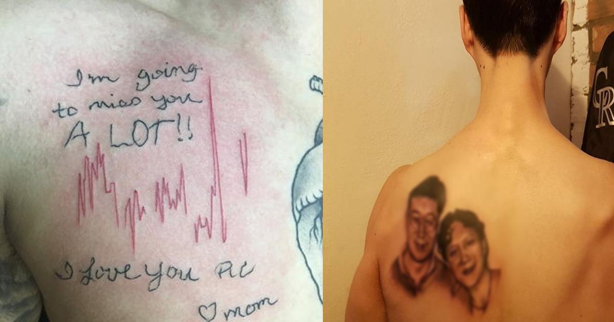 tatoo heart sound.png - 亡くなった母の最後の心臓の音を胸に「タトゥー」を入れた息子
