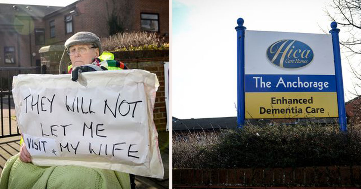 untitled 1 43.jpg - An 89-Year-Old Man Has Launched A Protest Outside A Grimsby Care Home, Claiming That He Has Been Banned From Seeing His Wife