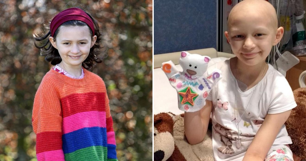 caroline4.png - 9-Year-Old Girl Survives Rare Inoperable Cancer Doctors Initially Dismissed As Ear Infection