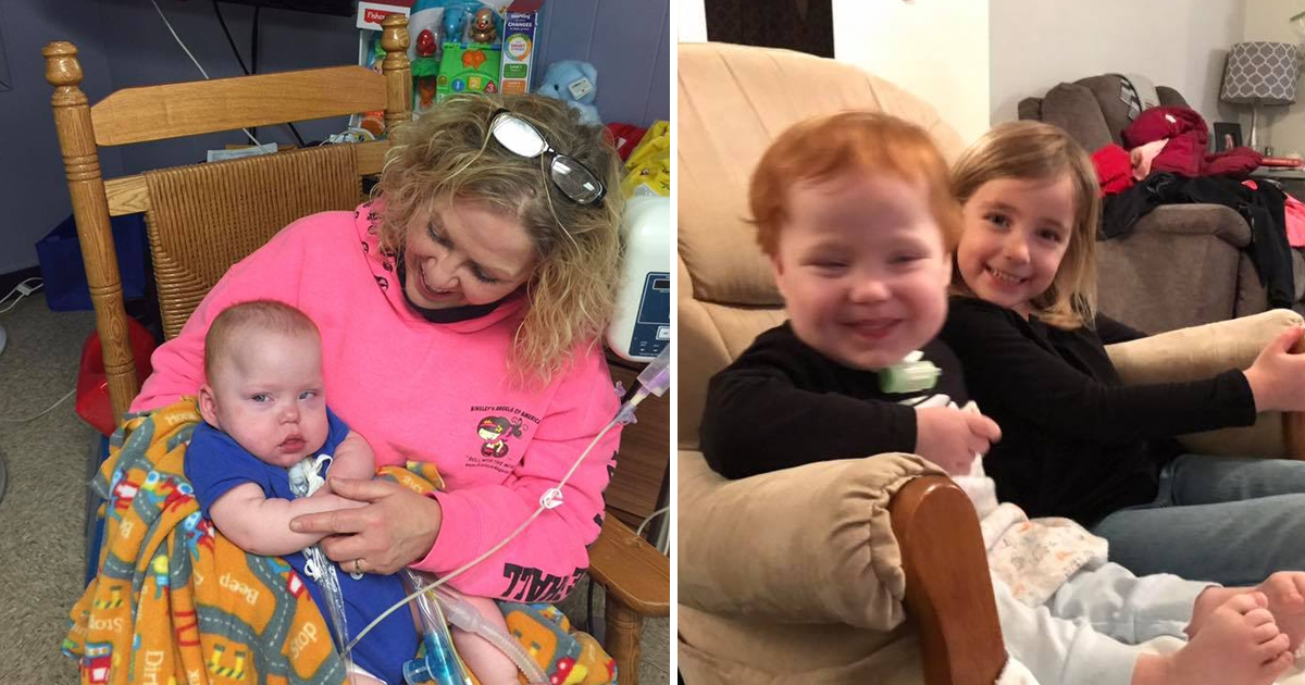 dfdddd.jpg - Woman Saves A Preemie Baby  And With Just 30% Chance Of Survival- Thanks To An 'Angel' He Survived And Is Already 3 Years Old