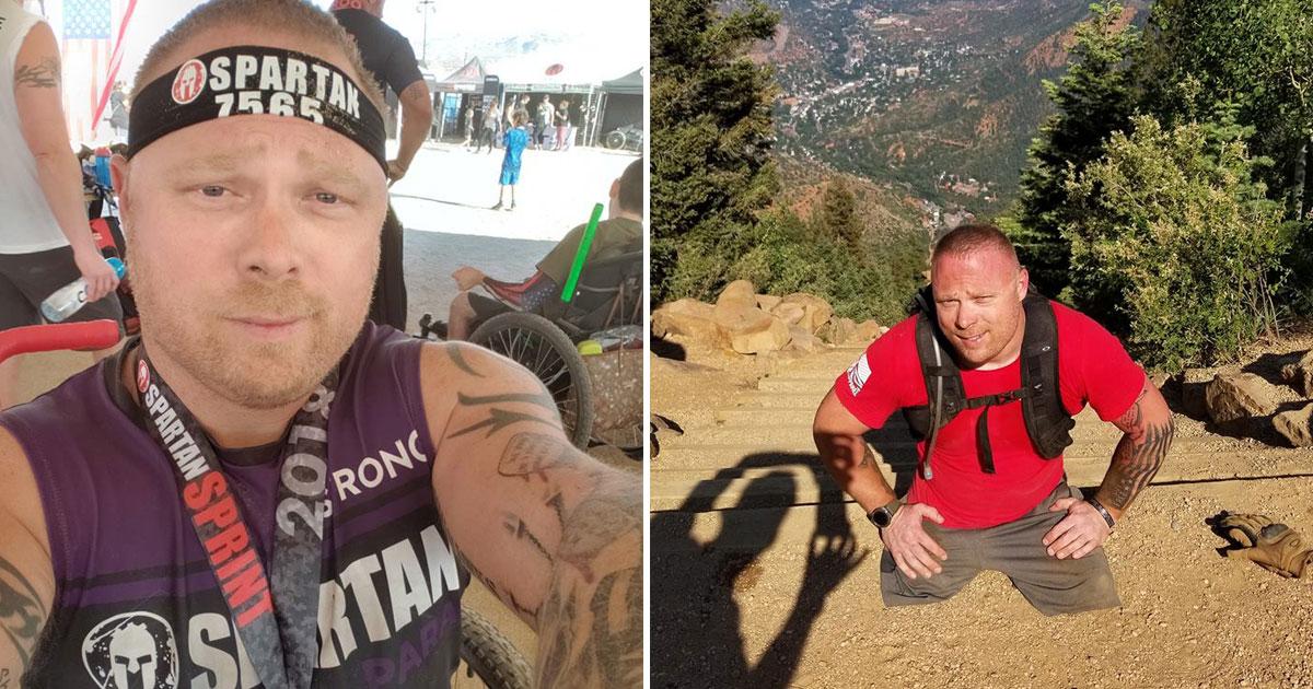 double amputee veteran.jpg - Un ancien combattant amputé franchit 3000 marches pour sensibiliser les gens au taux de suicide des vétérans