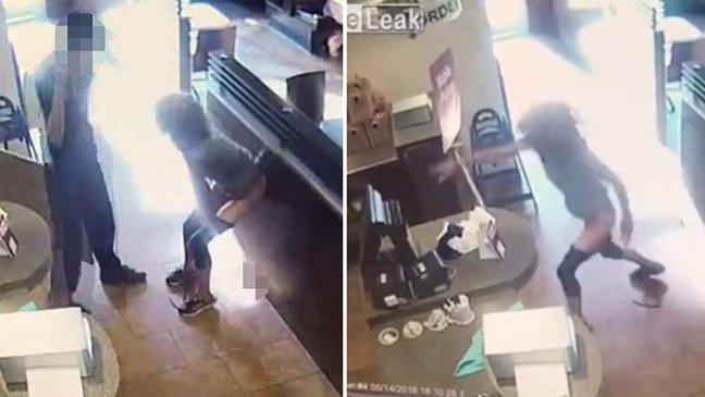 ebacb4eca09c 3 ebb3b5ec82ac 1.jpg - カフェの中でう〇ちをして店員に投げた女性の「奇抜な」行動