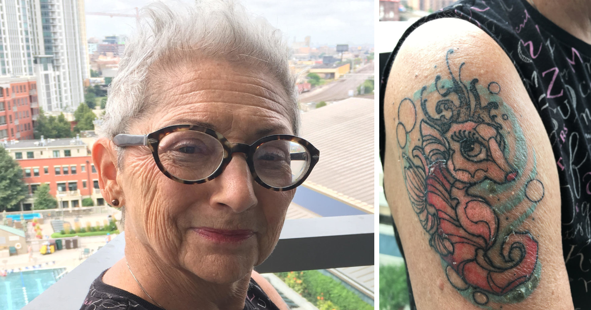 featured image 24.png - Woman Gets A Tattoo Instead Of A Face-Lift For Her 80th Birthday