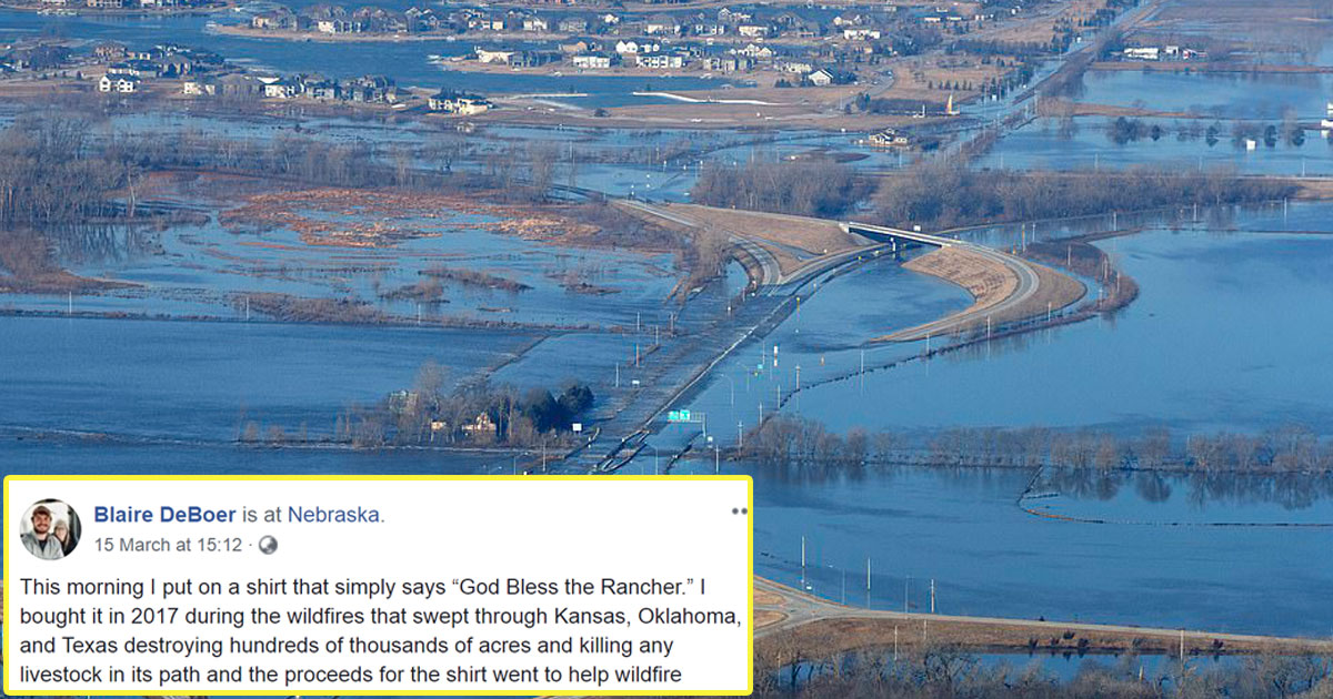 nerbaska floods.jpg - A Woman's Emotional Prayer For Ranchers During Devastating Nebraska Floods Goes Viral
