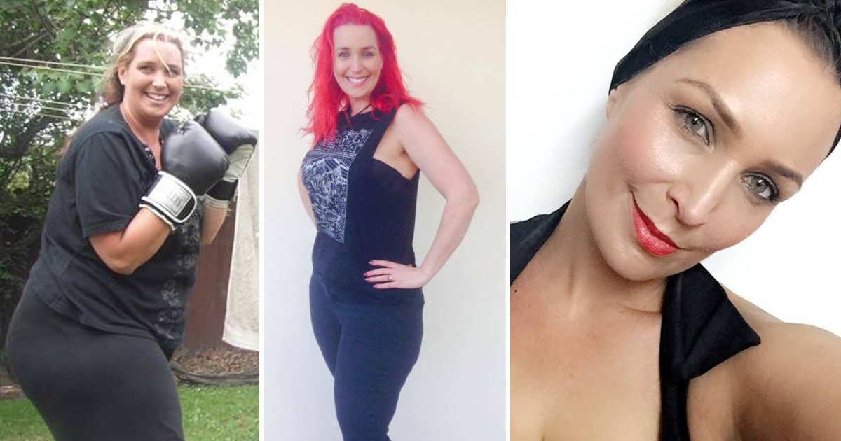 transformation.png - Woman Loses 155 Lbs By Giving Up 4 Foods