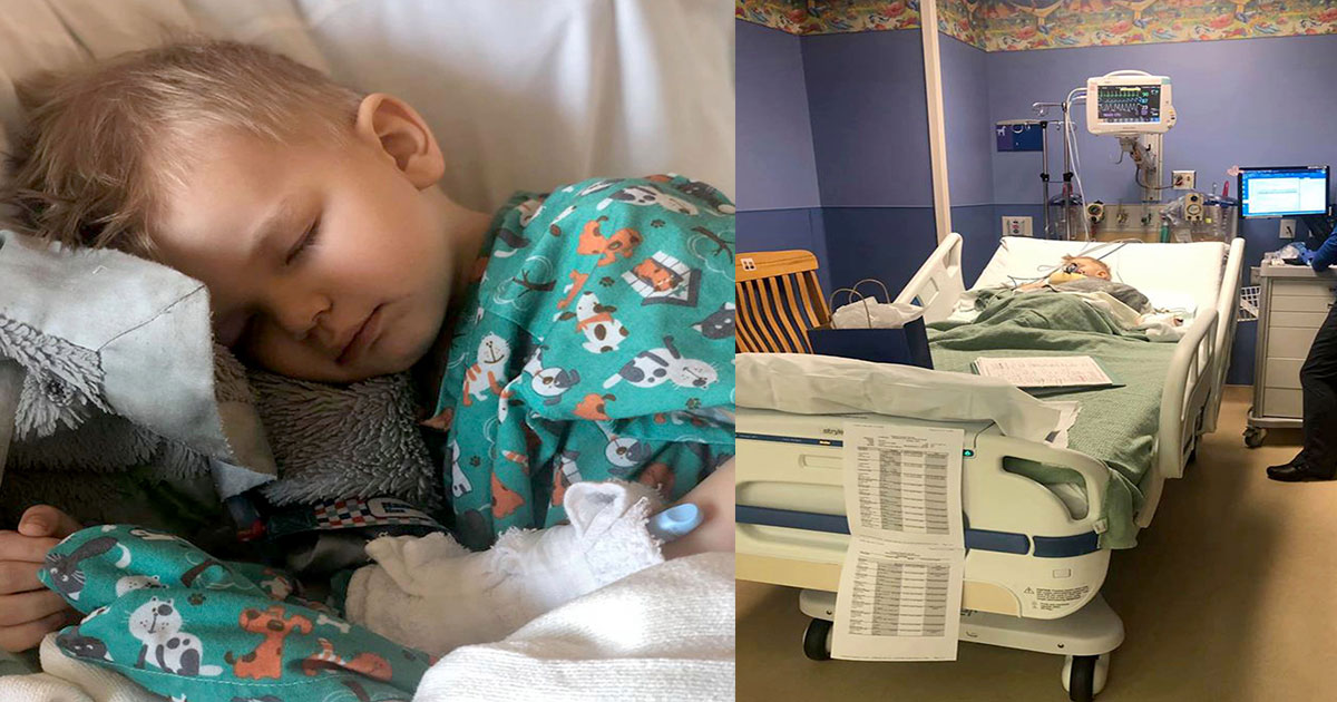 two year old boy nearly died from eating popcorn after a kernel got trapped in his lungs.jpg - Two-Year-Old Boy Nearly Passed Out From Eating Popcorn After A Kernel Got Trapped In His Lungs