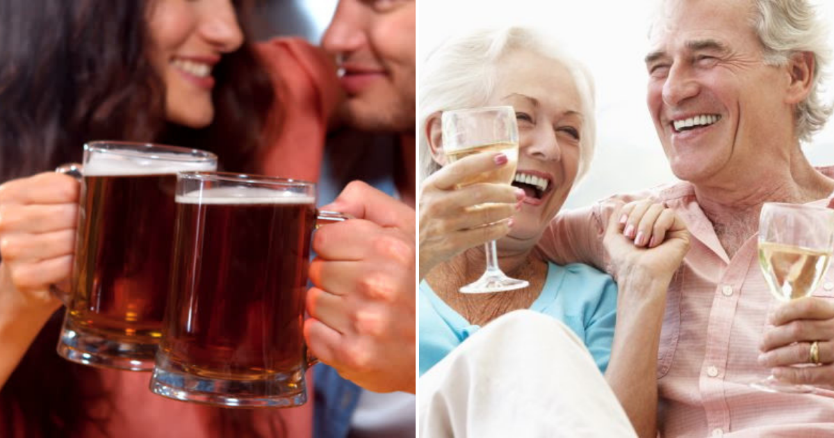 alcohl.png - It Is Confirmed! Couples Who Drink Together, Stay Together, Forever!