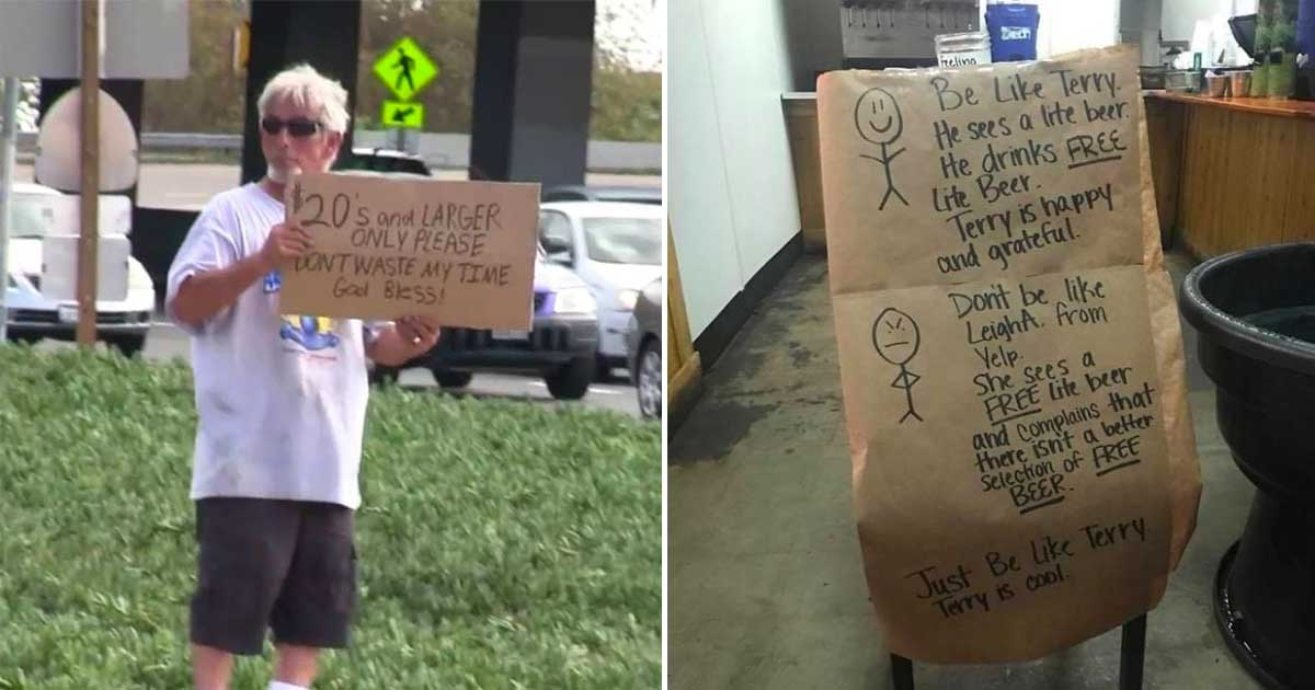 beggars.jpg - 40+ Beggars Who Hilariously Show That Beggars Can Actually Be Choosers