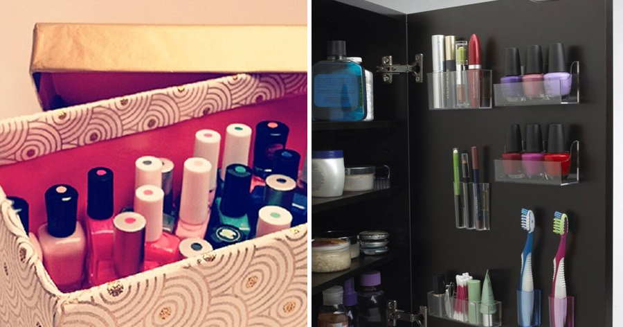 c5.jpg - 18 Dicas ótimas e práticas para organizar os cosméticos