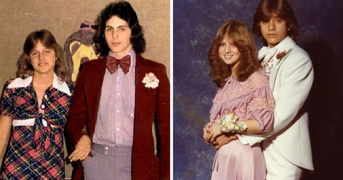 celeb prom.jpg - 40 Celebrity Prom Photos That Will Put Your Embarrassment To Shame