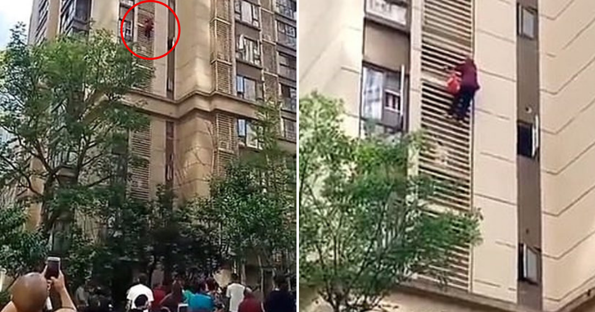 grandma4.png - 90-Year-Old Grandma With Dementia Scaled Nine Floors Down The Building After Family Locked Her In Apartment