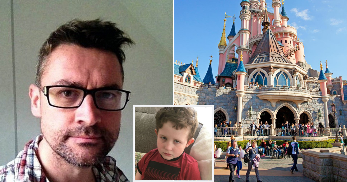land.png - Dad Convinced Son They Were Going To Disneyland But Took Him To Bargain Store In 'Savage' Prank