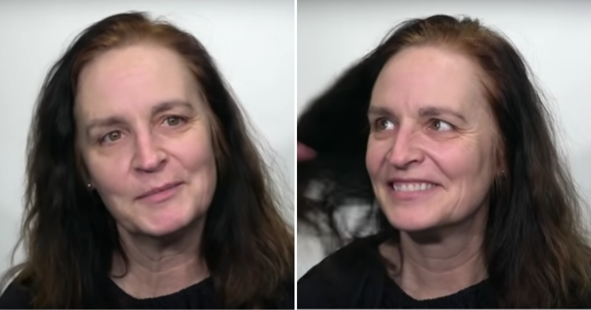 mary6.png - Woman Decided To Surprise Her Husband By Trading Long Brunette Locks For Blonde Short Look