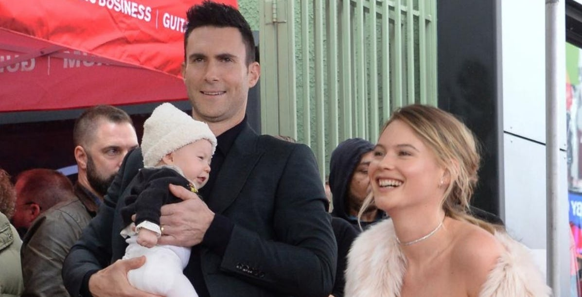 adam.jpeg - 20 Pictures Of Adam Levine As A Father