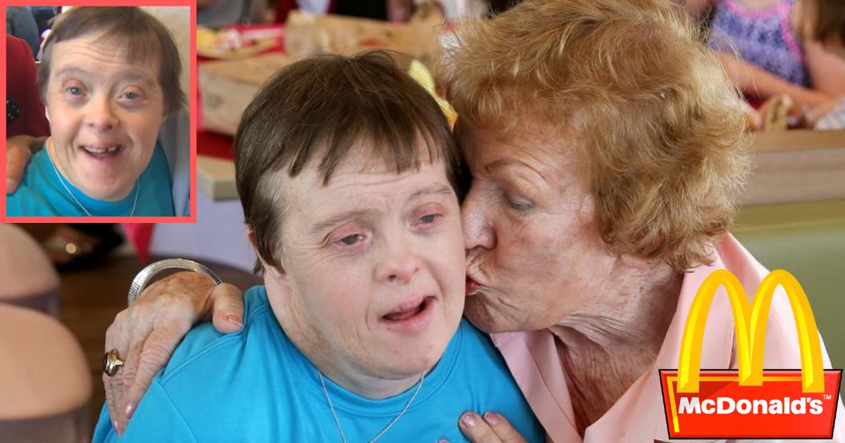 d1 5.png - Une femme atteinte de trisomie est décédée après avoir travaillé pour Mc Donald's pendant 32 ans