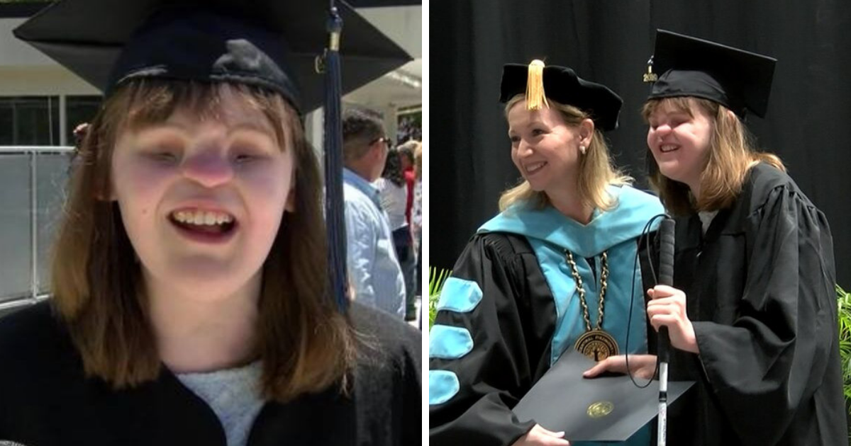 hooper5.png - 22-Year-Old Woman Born Without Nose And Eyes Successfully Graduates From College